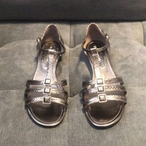 Brand New Pewter Sandals